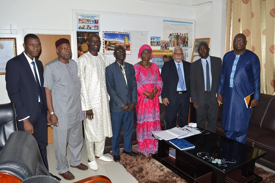Minister of Health and Social Welfare of the Republic of the Gambia Visit