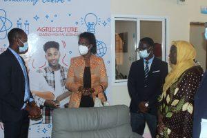 UNDP Delegation Visits C & W Centre